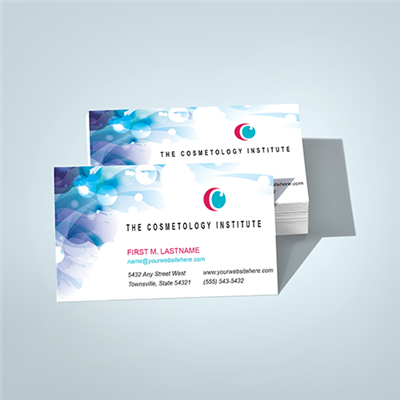 Printing full color business cards united reprographics seattle matte or glossy business cards offset reheart Images