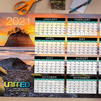 Yearly At-A-Glance Calendars (Flat)