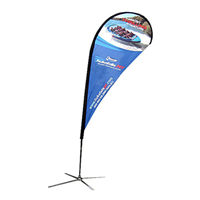 Teardrop Flag Banner - Medium