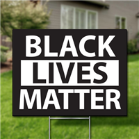 Yard Signs, Pack of 10 - Black Lives Matter