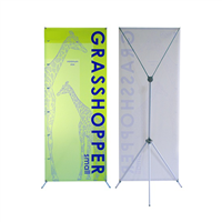 Grasshopper Small Banner Stand