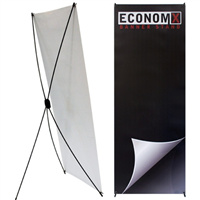 Econom-X Small Indoor Banner Stand