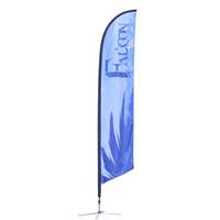 Falcon Flag Banner - 14ft (Large)